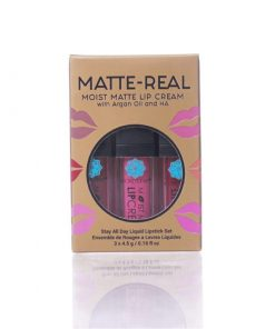 Matte-Real Moist Matte Lip Cream Set - Secretleaf Skin Beauty